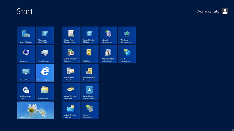 ویندوز سرور 2012 استاندارد R2